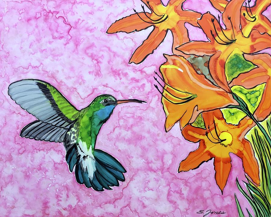 Daylilies Delight by Sonja Jones
