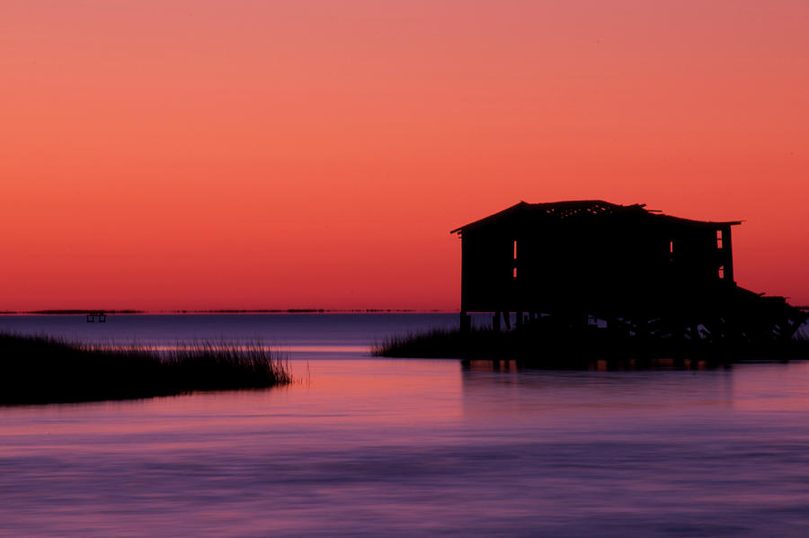 Atlantic Coast Photograph - Days End by Melissa Southern