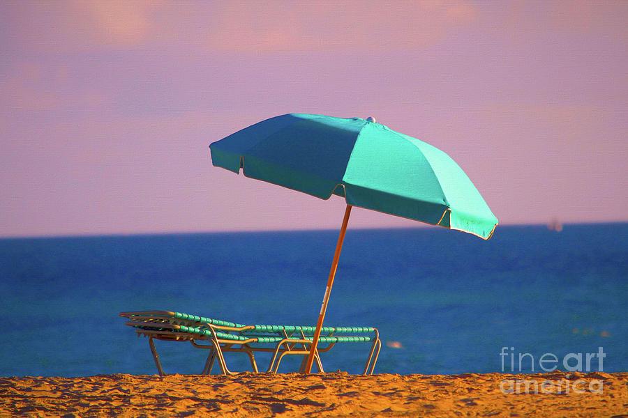 Beach Scene Photograph - Days Rest Waiting by Chris Mautz