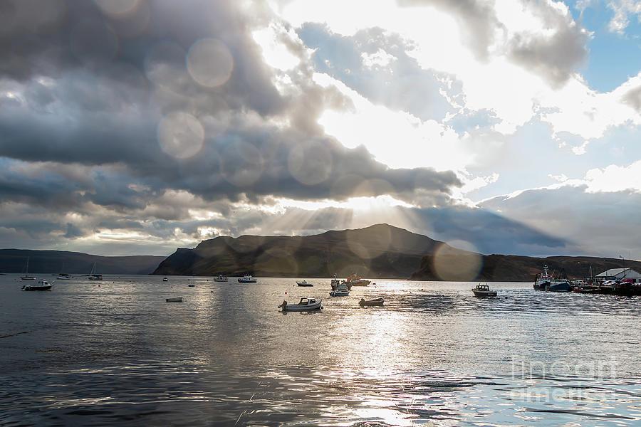 Dazzling Loch Portree Scotland Photograph
