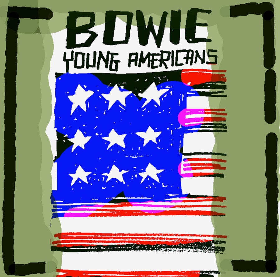 Db Bowie Young Americans Painting
