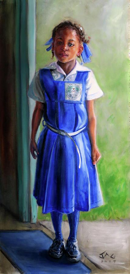 Saint Lucia Painting - DD by Jonathan Guy-Gladding JAG