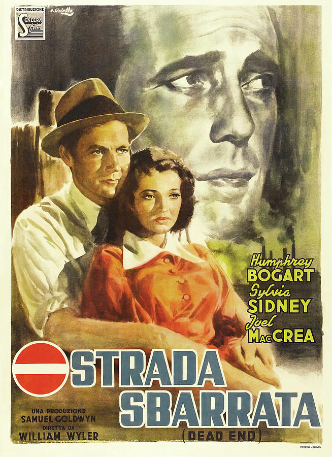 dead End, With Sylvia Sidney, 1937 Mixed Media