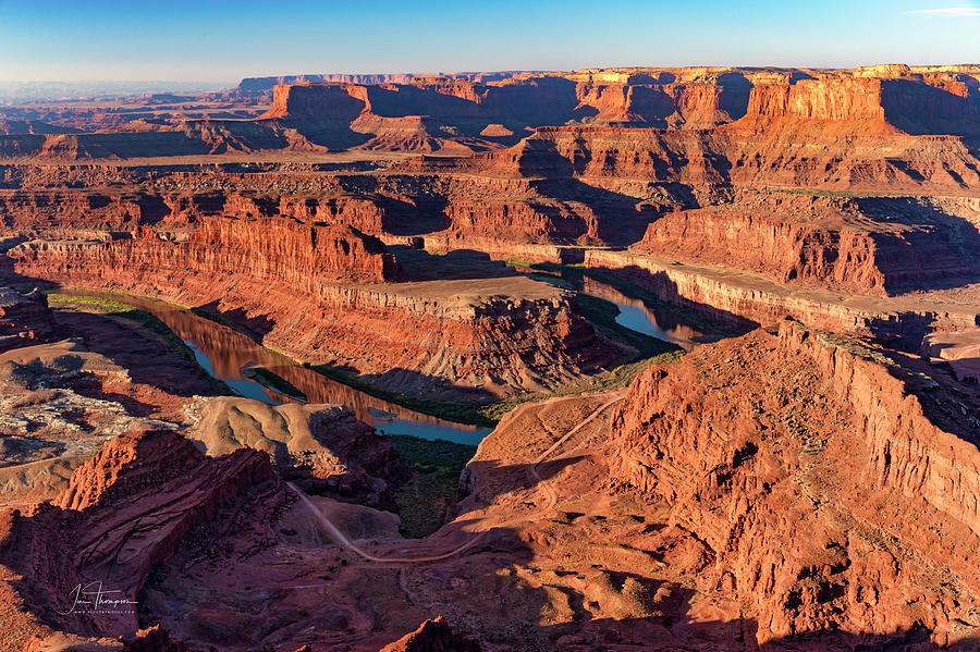 Colorado River Photograph - Dead Horse Point by Jim Thompson