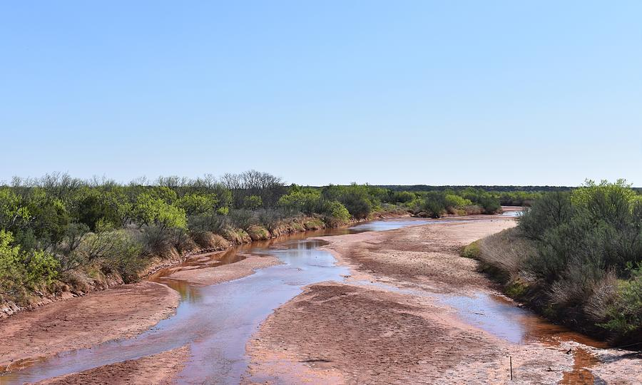 Deadman Creek Texas Photograph