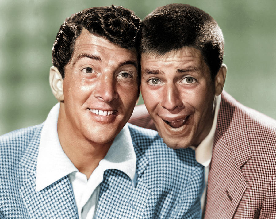 Dean Martin And Jerry Lewis Photograph