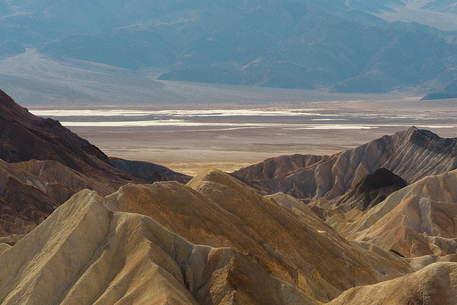 Death Valley Floor View by Matthew Irvin