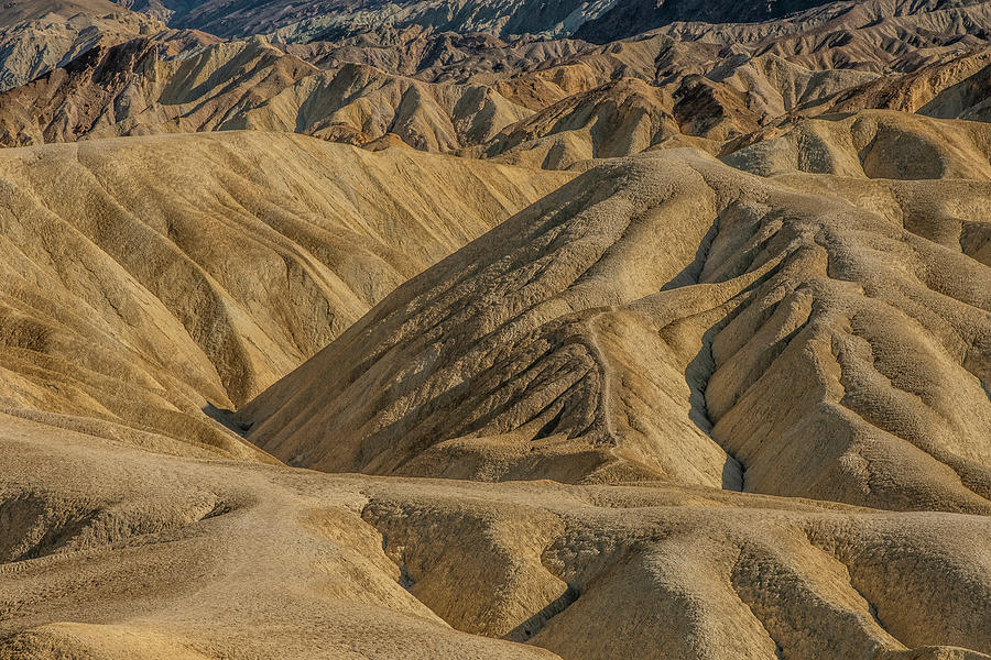 Death Valley Hills by Matthew Irvin