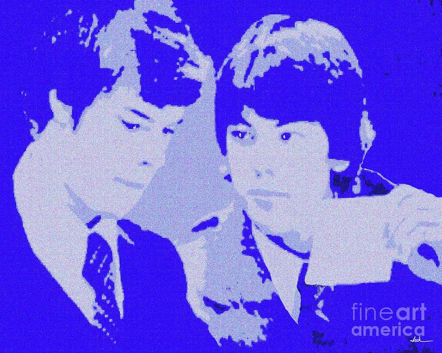 Debate Painting - Debaters 1977 by Jack Bunds