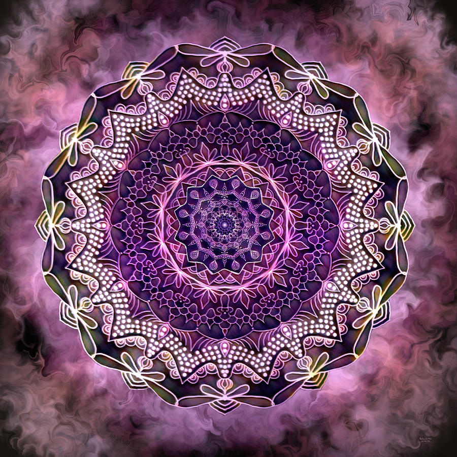 December Mandala by Artful Oasis