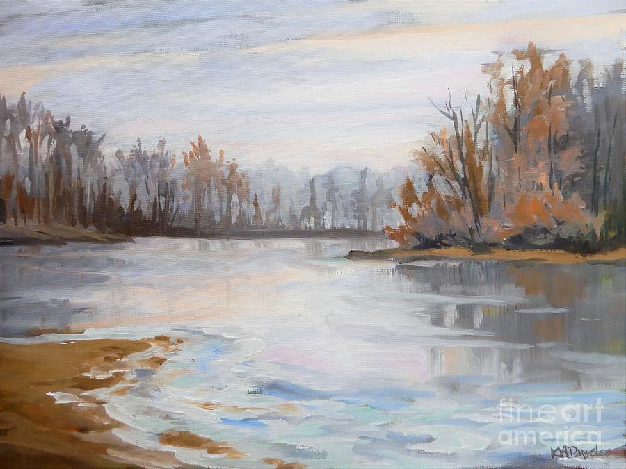 December Sunrise Painting