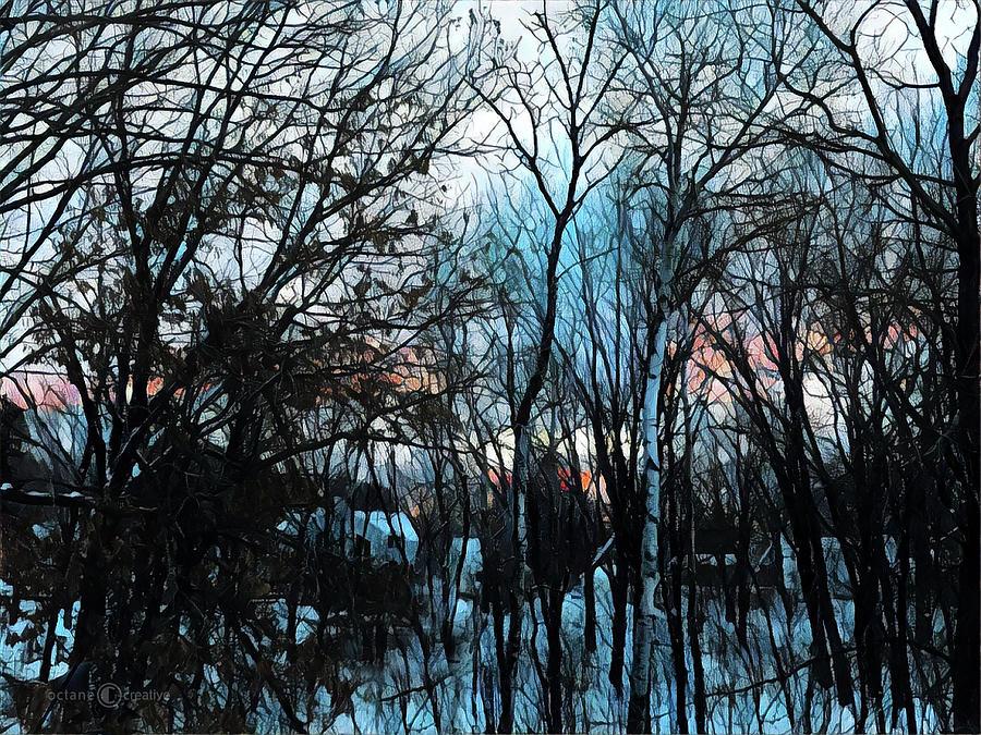 December Sunrise by Tim Nyberg