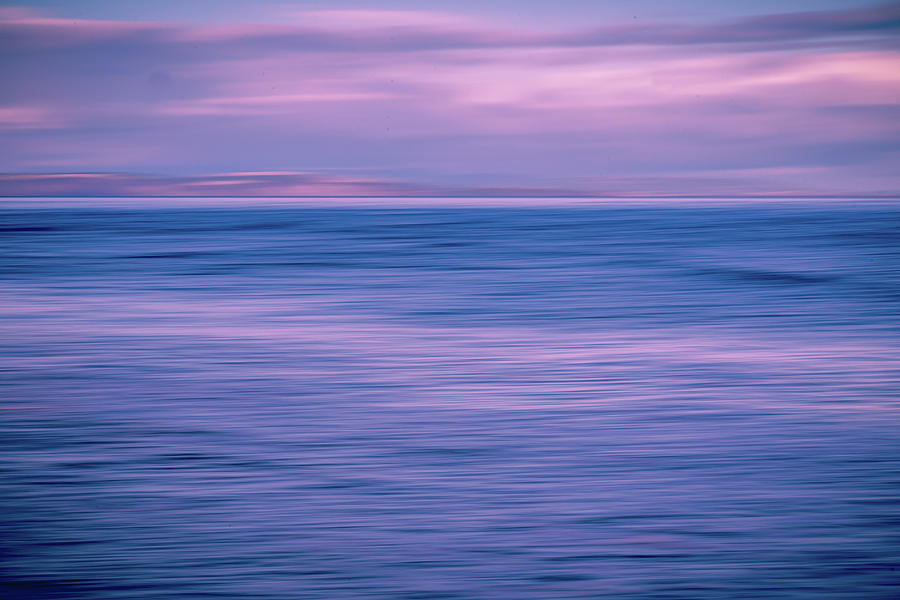 Abstract Photograph - Deep Blue Someting by John Frid