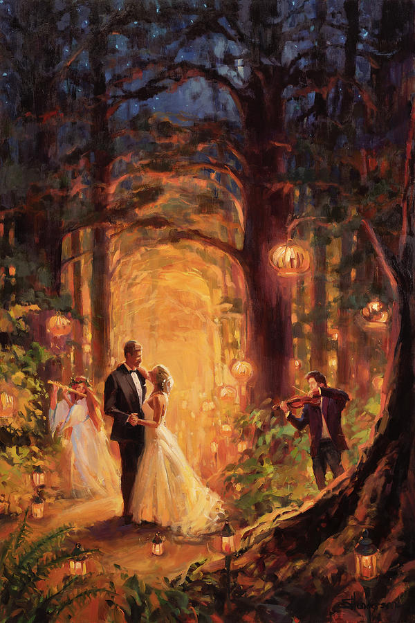 Deep Forest Wedding Painting