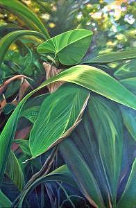 Barbados Painting - Deep In Barbados by Hunter Jay