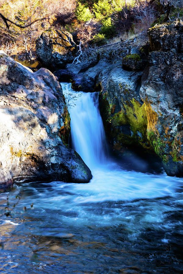 Waterfall Photograph - Deer Creek Falls by John Heywood