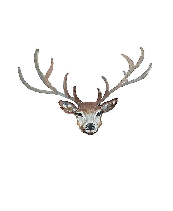 Deer Idea Facemask Painting