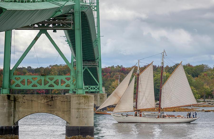Deer Isle Bridge by Paul Freidlund
