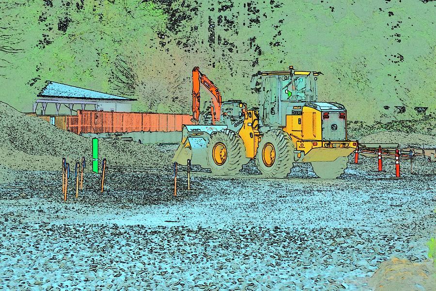 Deere Excavator Photograph