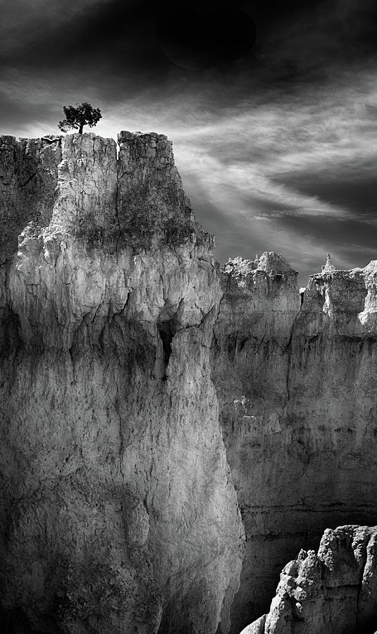 Horseshoe Canyon Photograph - Defiance by Paul Malen