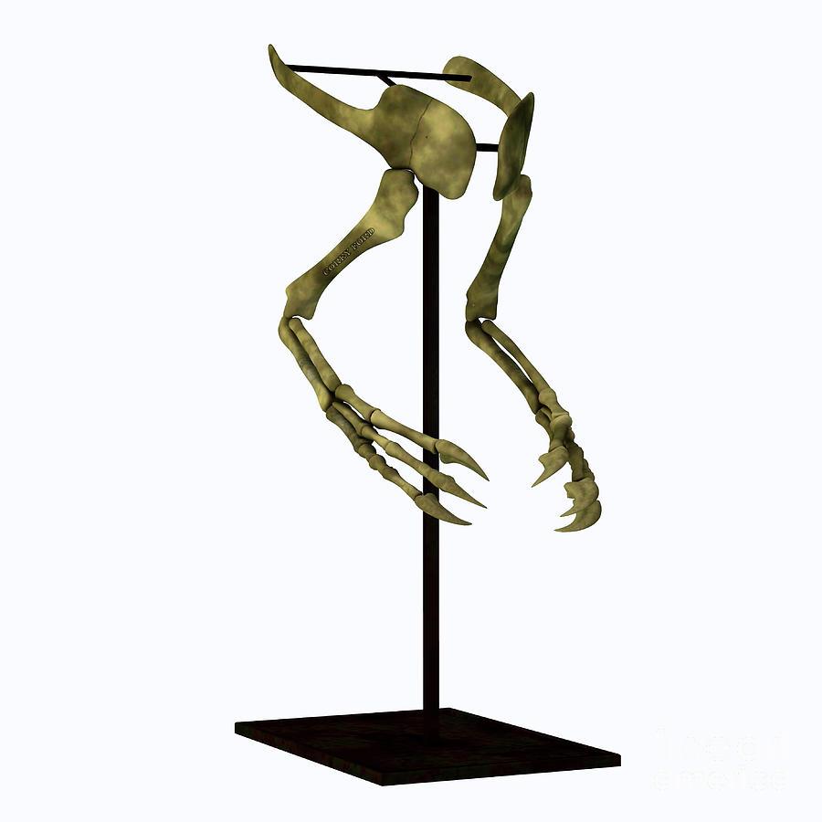 Deinocheirus Arm Bones Digital Art