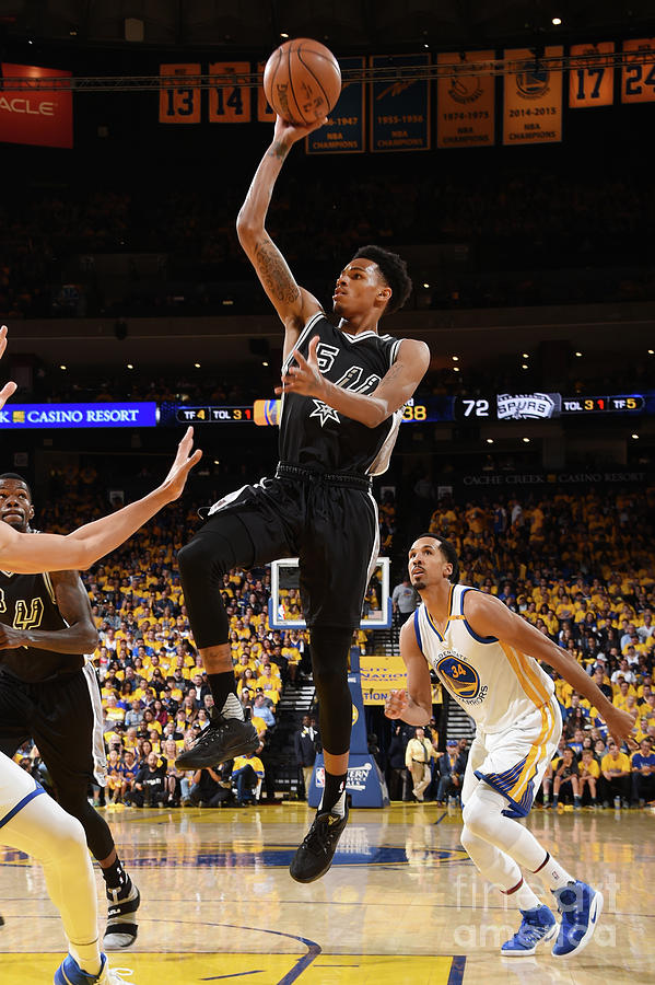 Dejounte Murray Photograph by Andrew D. Bernstein