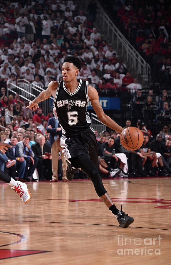 Dejounte Murray Photograph by Bill Baptist