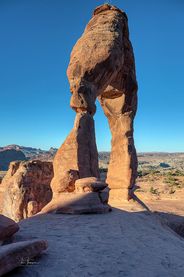 Arches National Park Photograph - Delicate Arch 3 by Jim Thompson
