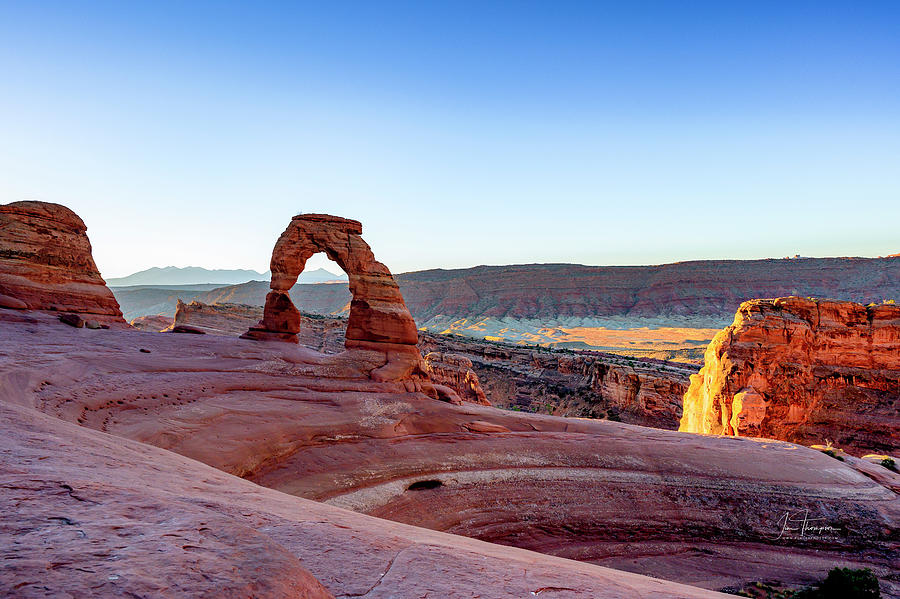 Arches National Park Photograph - Delicate Arch by Jim Thompson