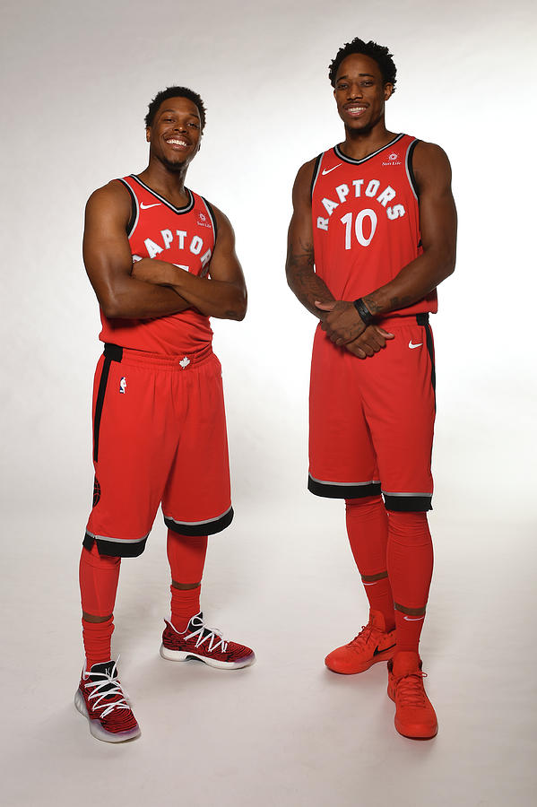 Demar Derozan and Kyle Lowry Photograph by Ron Turenne