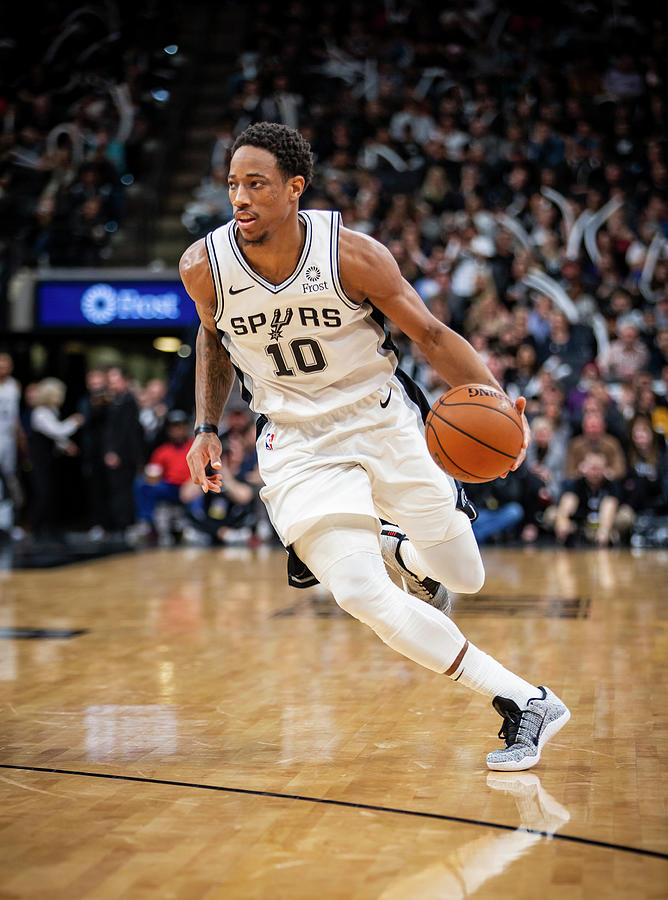 Demar Derozan Photograph by Zach Beeker