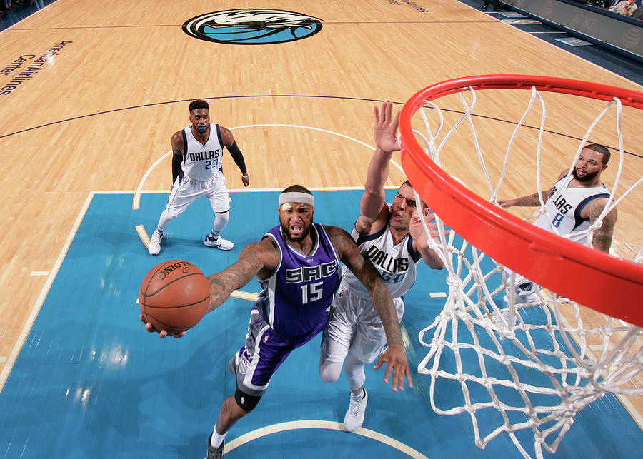 Demarcus Cousins Photograph by Glenn James