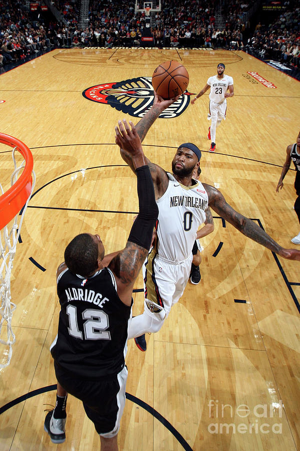Demarcus Cousins Photograph by Layne Murdoch Jr.
