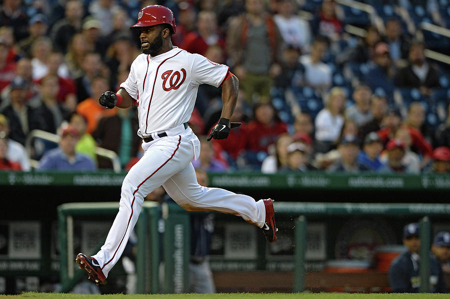 Denard Span and Anthony Rendon Photograph by Patrick Smith