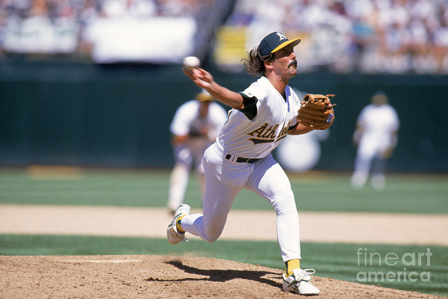 Dennis Eckersley Photograph by Jed Jacobsohn