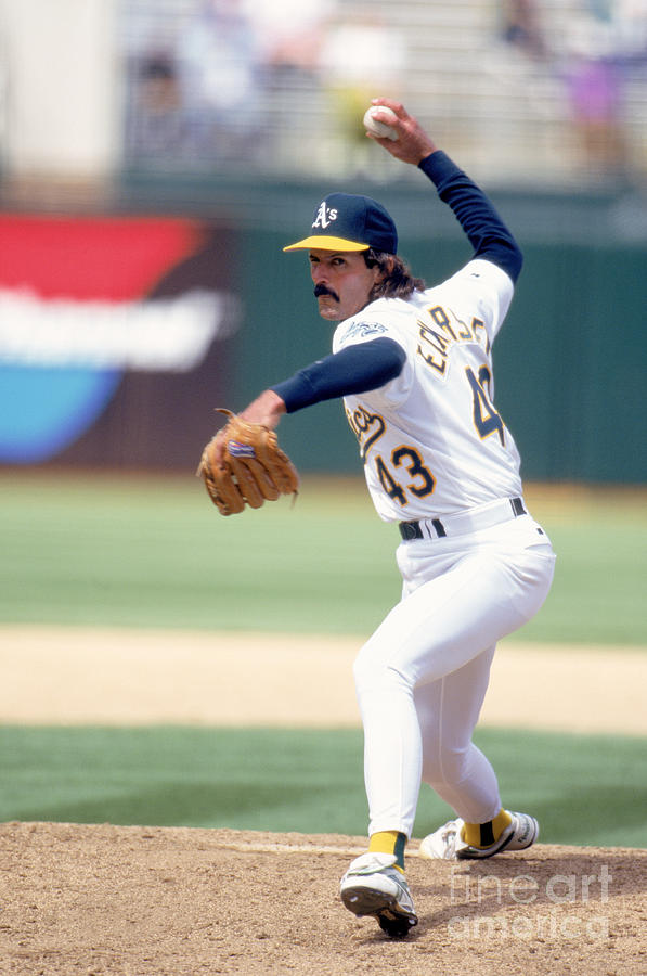 Dennis Eckersley Photograph by Jeff Carlick