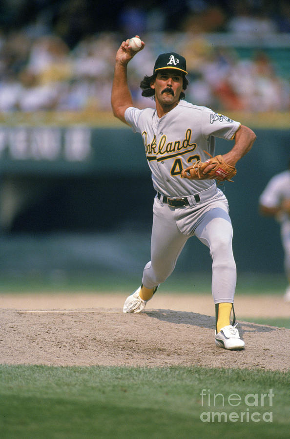 Dennis Eckersley Photograph by Ron Vesely