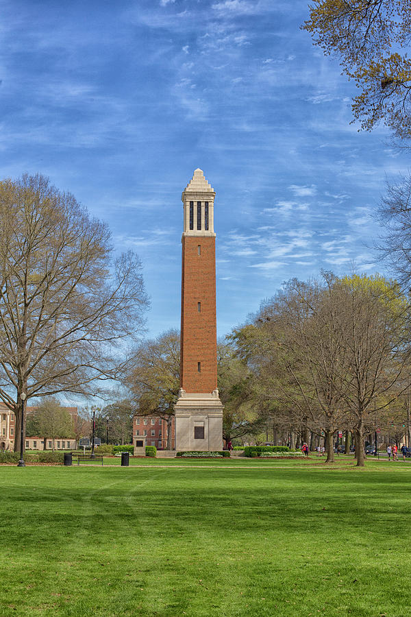 Denny Chimes Photograph - Denny Chimes - Blue Sky by Eric Overton