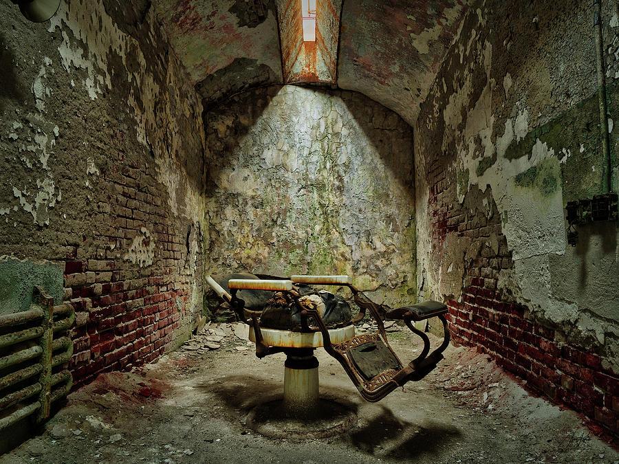 Dentist Chair Decay Photograph