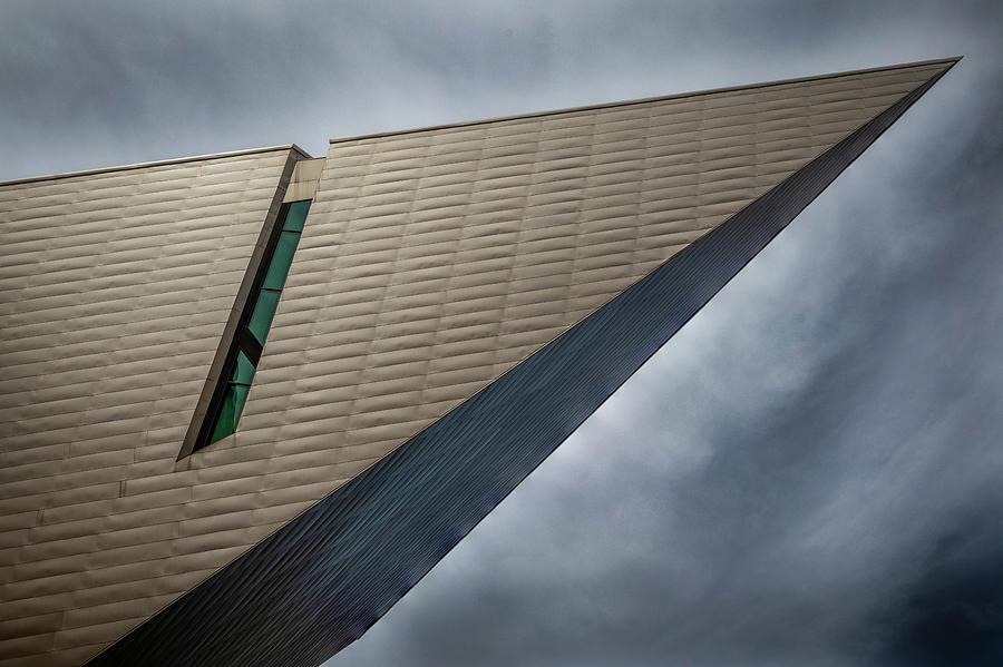 Denver Art Museum Photograph - Denver Art Museum 3 by Kevin Schwalbe
