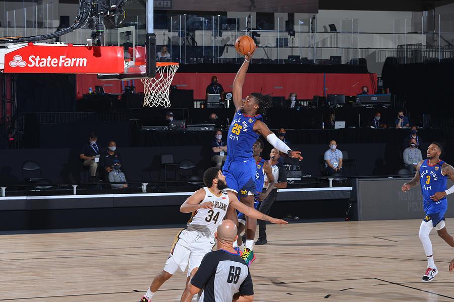 Denver Nuggets v New Orleans Pelicans Photograph by Garrett Ellwood