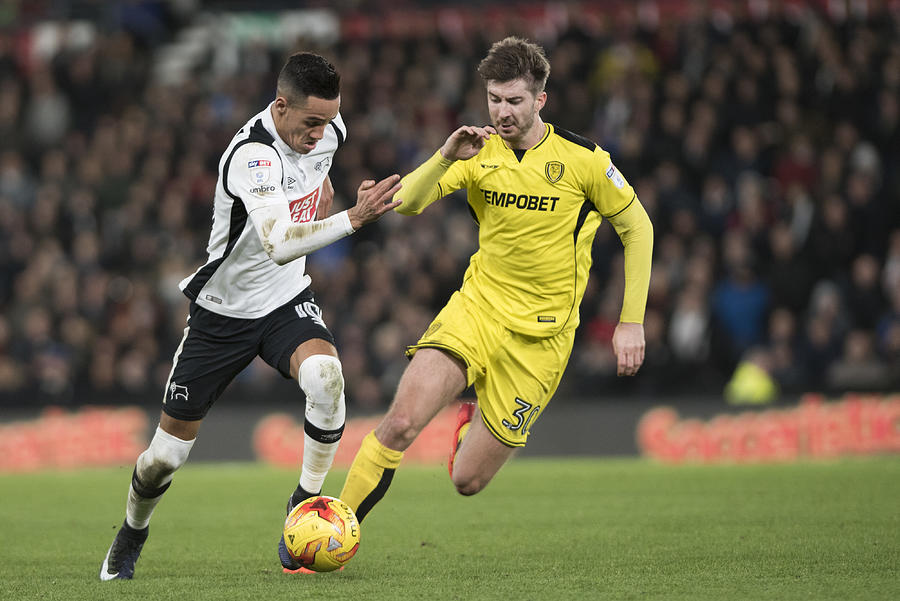 Derby County v Burton Albion - Sky Bet Championship Photograph by Nathan Stirk