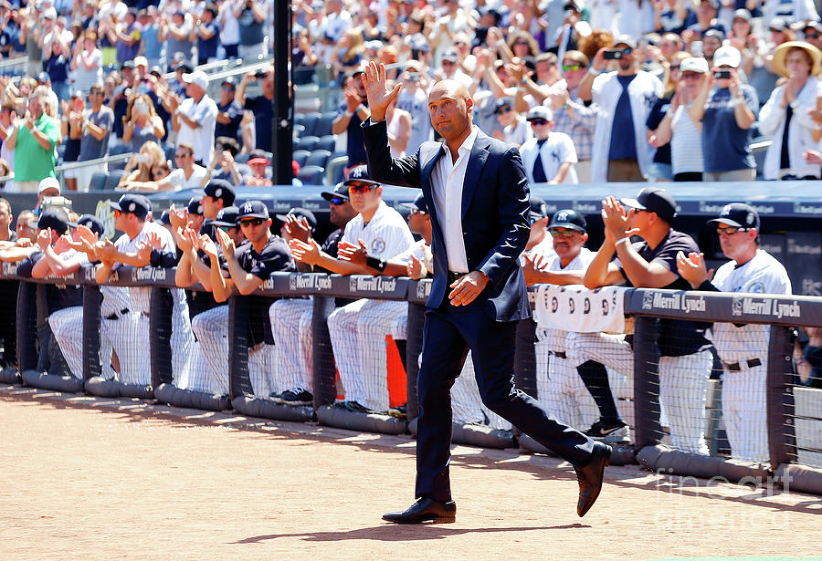 Derek Jeter and Jorge Posada Photograph by Jim Mcisaac