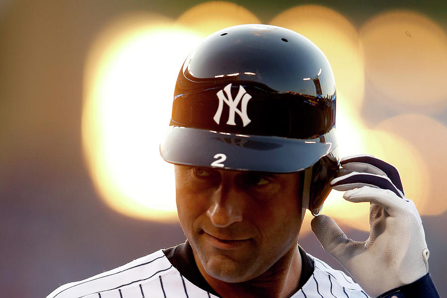 Derek Jeter Photograph by Jamie Squire