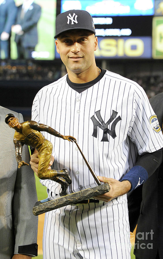 Derek Jeter Photograph by Rich Pilling