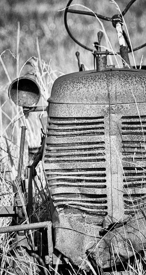 Derelict Farm Tractor - Eastern North Carolina Photograph