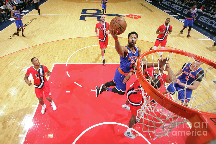 Derrick Rose Photograph by Ned Dishman