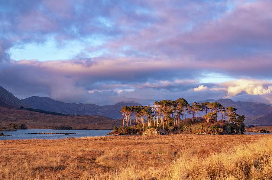 Lake Photograph - Derryclare Lough by Rob Hemphill