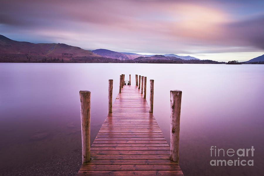 Derwent water jetty, Lake District, England by Neale And Judith Clark