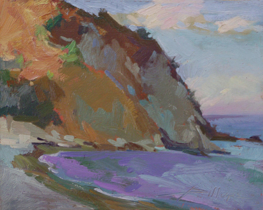 Catalina Island Painting - Descanso Bay, Catalina by Betty Jean Billups